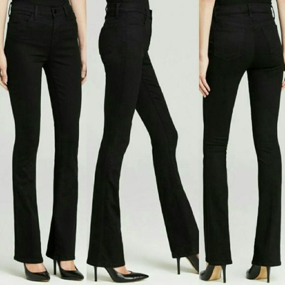 56a229ae9c8 J Brand Denim - J Brand Remy High Rise Black Boot Cute Flare Jeans